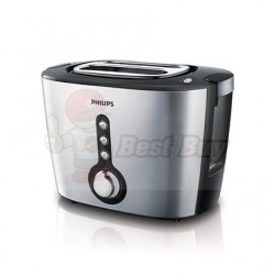 Philips 飛利浦  HD2636/20  雙槽三用黑/銀色  多士爐