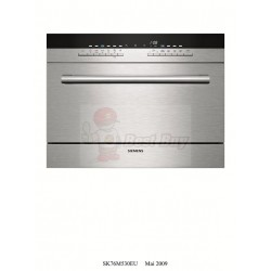 Siemens 西門子  SK76M530EU  speedMatic Modular dishwasher  - Stainless steel
