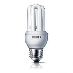 Philips 飛利浦 929689616612 Genie 桿形 11 瓦(60 瓦)E27 冷感日光 慳電膽