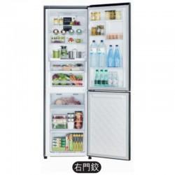 HITACHI 日立 RBG380P6XH (銀色玻璃) 320公升 底層冷藏式雙門雪櫃