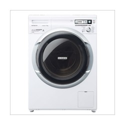 HITACHI 日立 BD-W75SV 7.5KG 前置式滾桶洗衣機